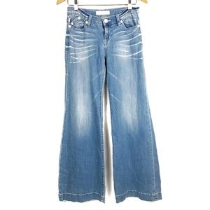 Rock & Republic Ace Wide Leg Flare Jeans